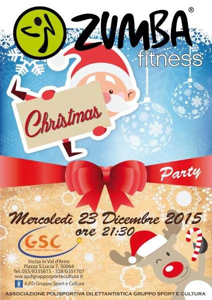 Auguri Di Natale Zumba.Zumba Fitness Christmas Party A P D Gruppo Sport E Cultura
